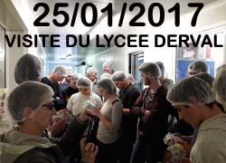 Visite du Lycée Saint-Clair de Derval