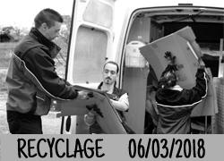 Recyclage de nos papiers et cartons