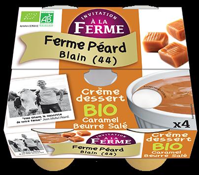 Crème dessert CARAMEL beurre salé - 4x100g