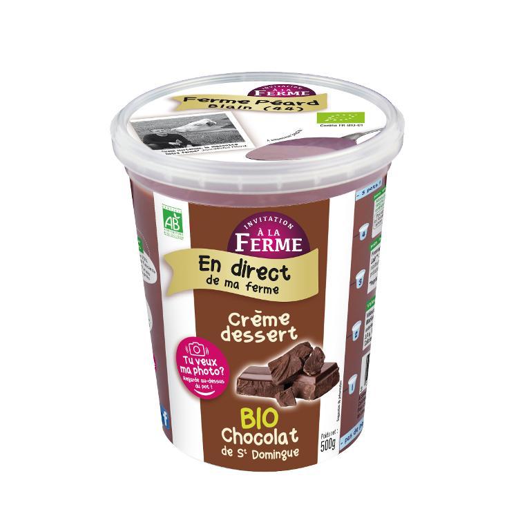 Crème dessert Chocolat 500g