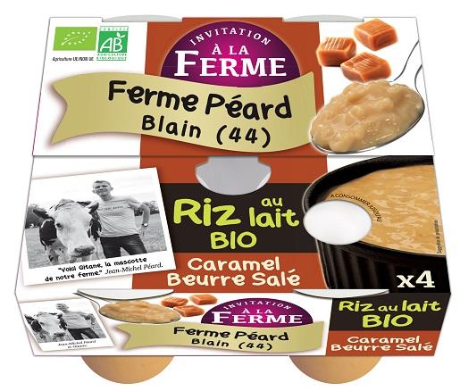 Riz au lait CARAMEL au beurre salé - 4x125g