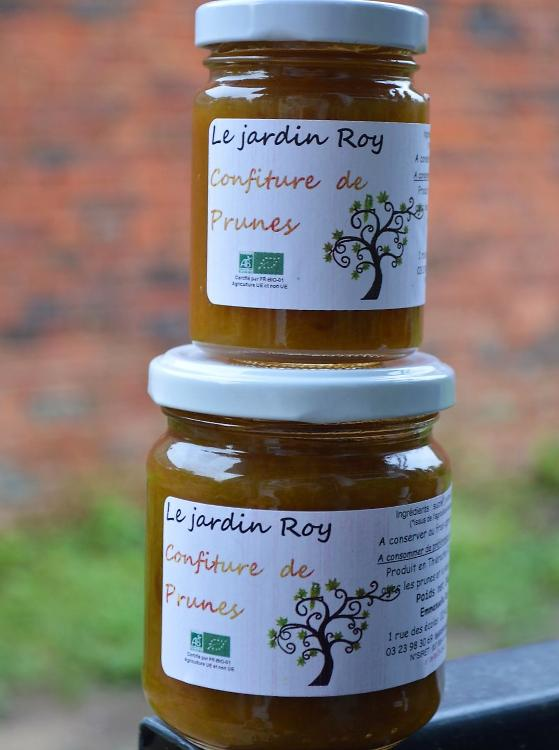 Confiture de prunes-romarin 220 g