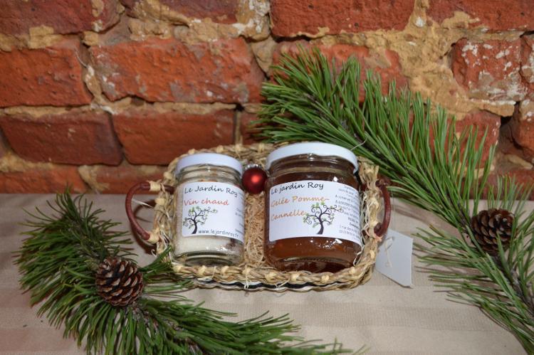 Coffret de Noël pomme-cannelle et vin chaud