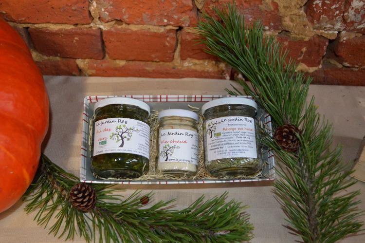 Coffret de Noël spécial aromates