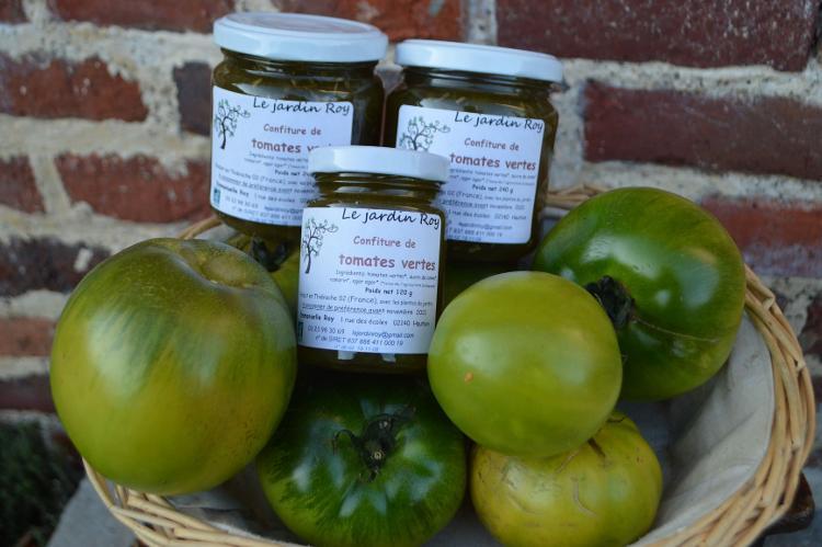 Confiture de tomates vertes-romarin 120 g