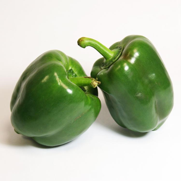 Poivron vert long ou carré
