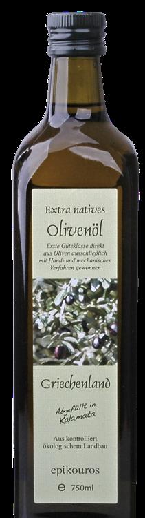 """Huile d'olives """"Epikouros"""" de Grèce 1L"""