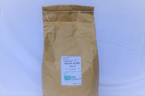 Farine de blé  blanche T 65 (pâtisserie) 2.5 kg
