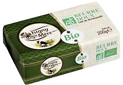 Beurre DOUX d'Isigny bio Certifié Ecocert  200g