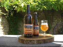 Bière artisanale La Doncourt, Triple Blonde (8%). Pack de 12 X 33 Cl