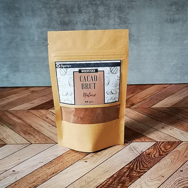 Cacao en poudre brut