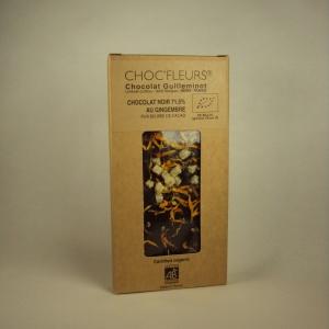 Chocolat Noir Gingembre 100g
