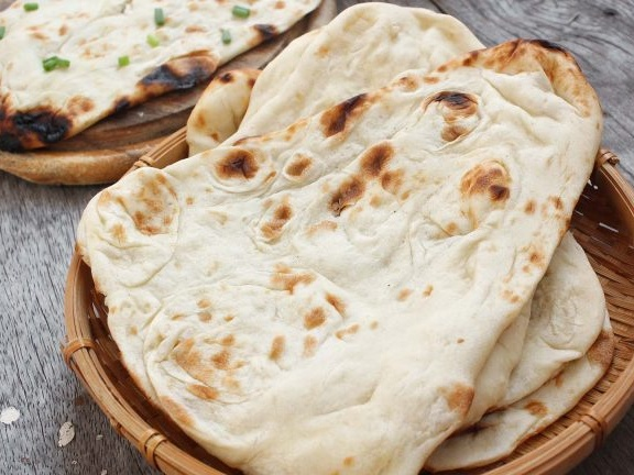 Naan poulet