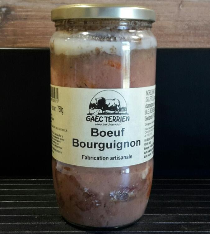 Bourguignon (Prêt à réchauffer)