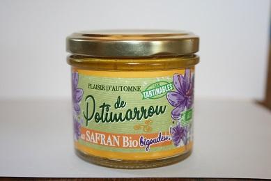 Tartinable de Potimarron au Safran