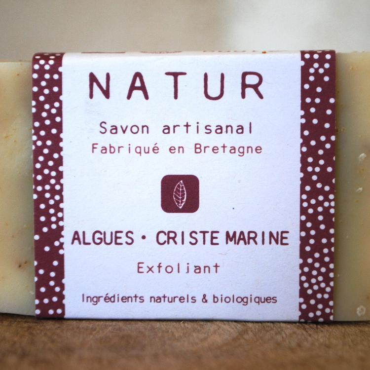 Savon Exfoliant Algues-Criste Marine