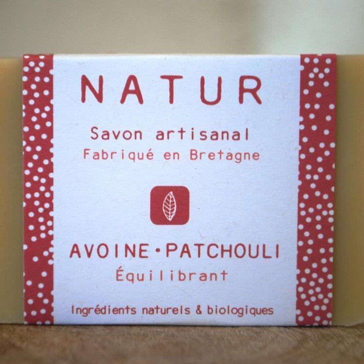Savon Avoine-Patchouli