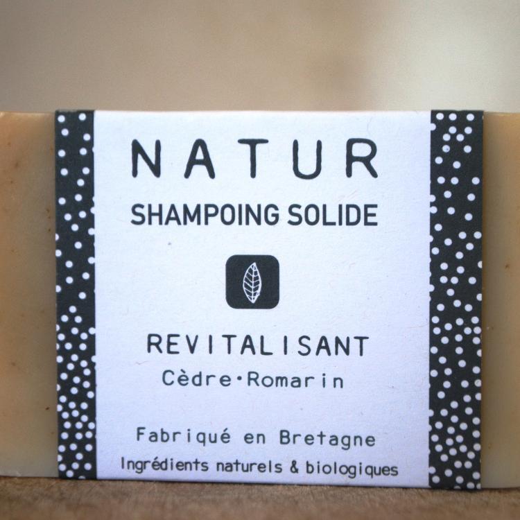 Shampoing solide Revitalisant