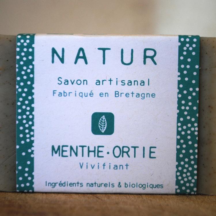 Savon Menthe-Ortie