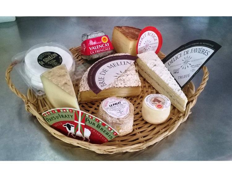 Plateau de fromages pour 10-12 personnes