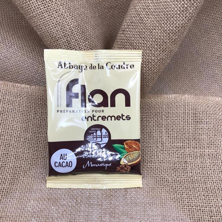 PREPARATION FLAN CHOCOLAT