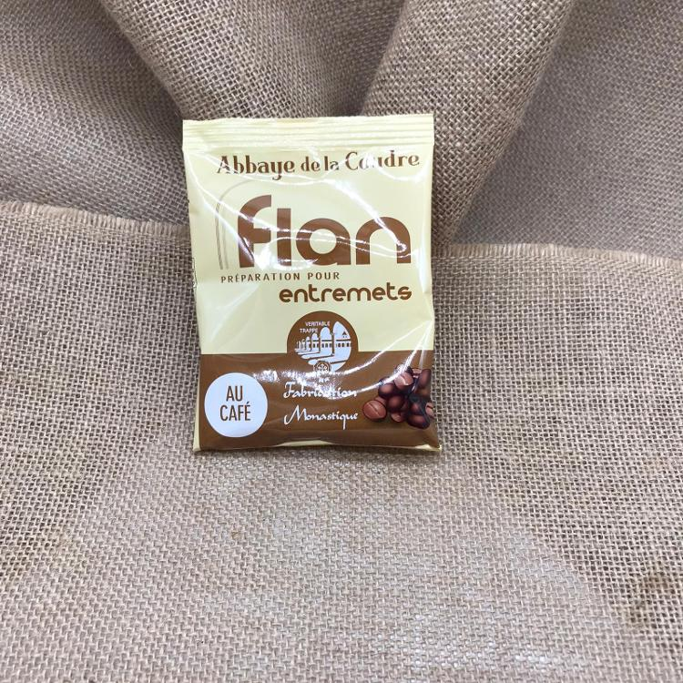 PREPARATION FLAN CAFE