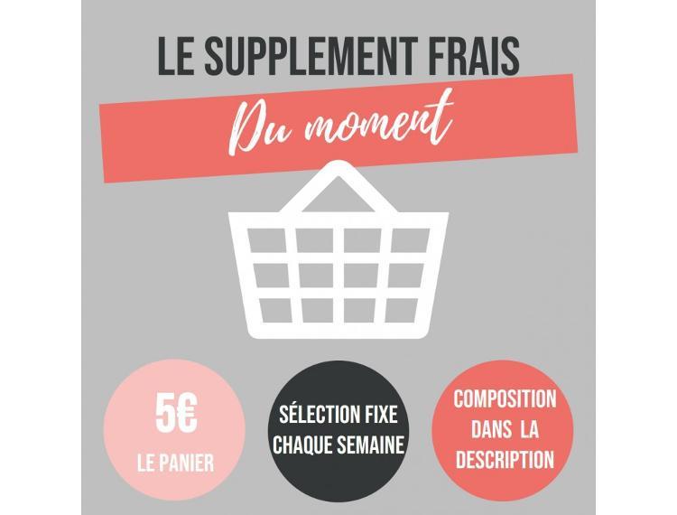 SUPPLEMENT FRAIS PANIER DE CHAMPLAIN