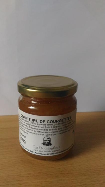 Confiture de courgettes (Doudoutière)