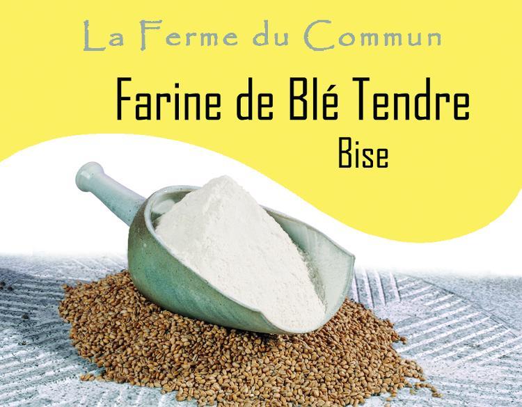 Farine de blé tendre Bise 5Kg