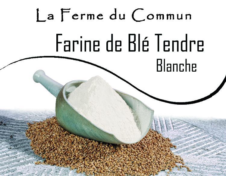 Farine de blé tendre Blanche 5Kg