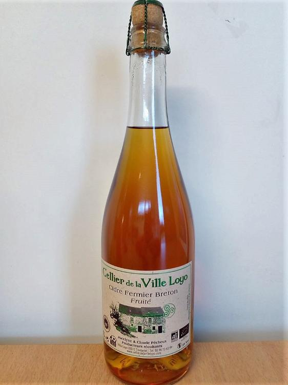Cidre Fermier Breton FRUITE