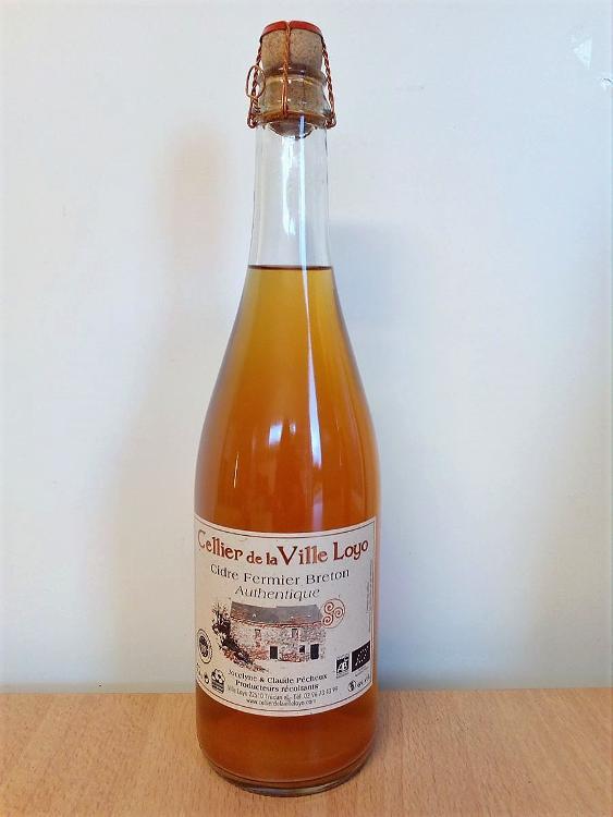 Cidre  Fermier Breton AUTHENTIQUE ou BRUT