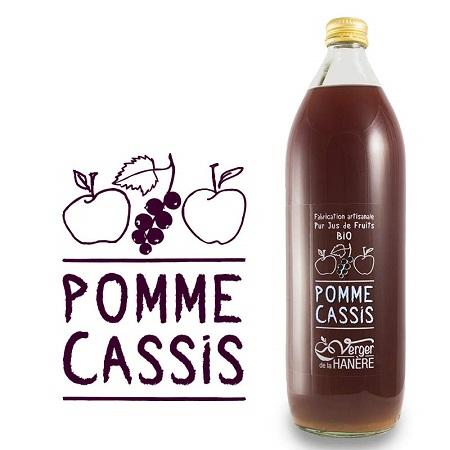 Jus de Pomme Cassis - Carton de 6 bouteilles
