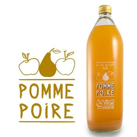 Jus de Pomme Poire - Carton de 6 Bouteilles