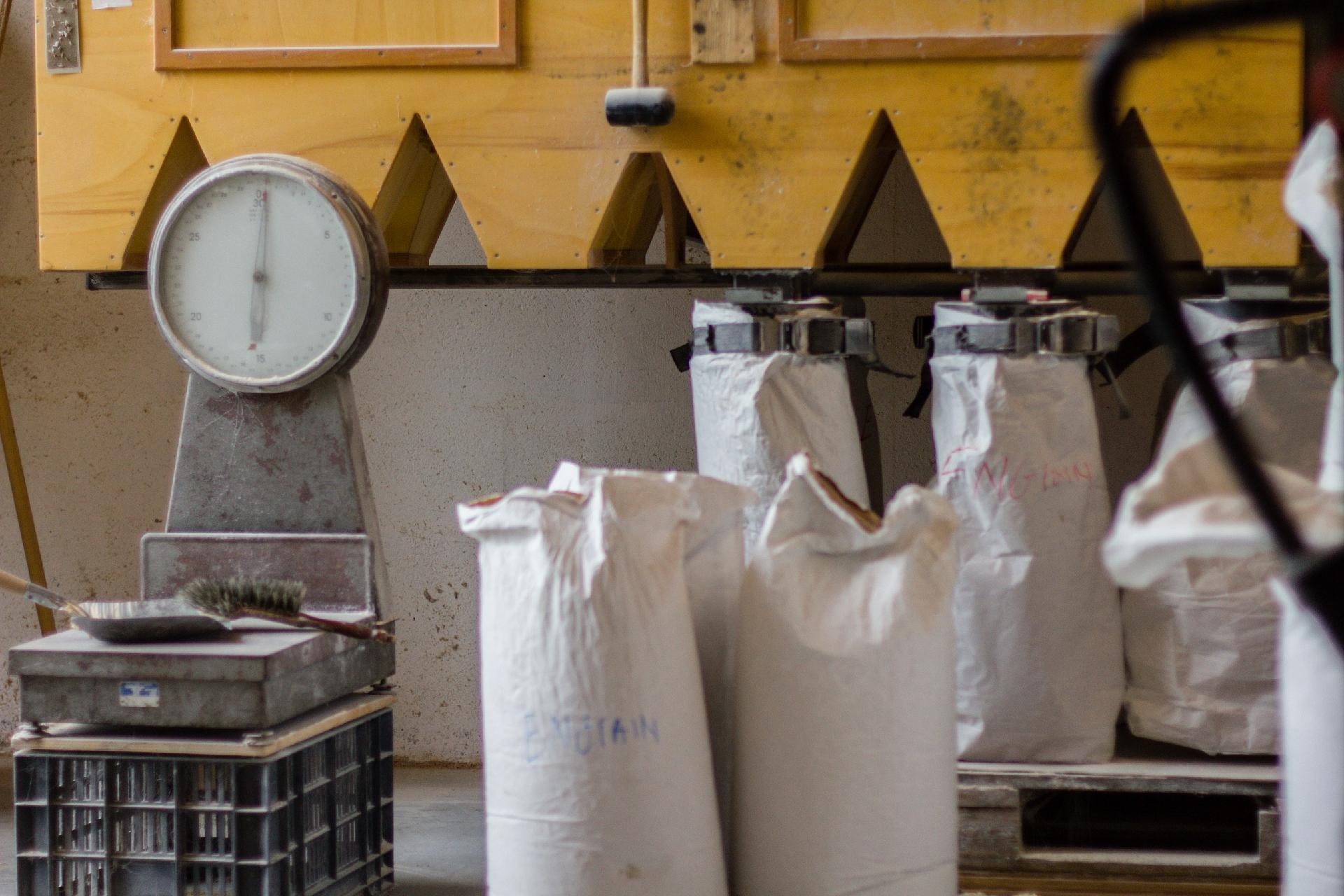Reprise de la vente de farine