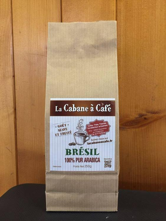 Café du Brésil moulu  - 250gr