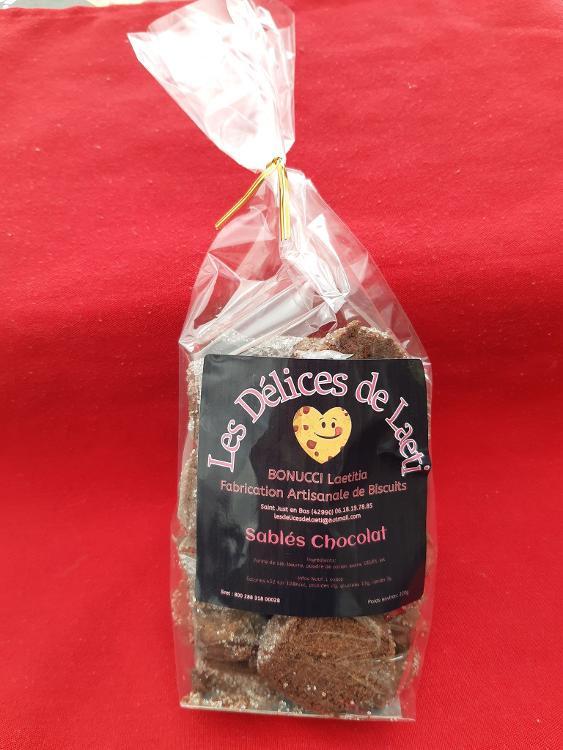 Sablés artisanaux Chocolat - 220gr