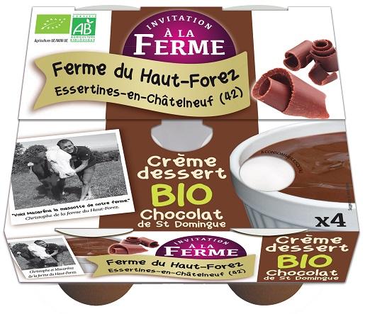 Crème chocolat - lot 4