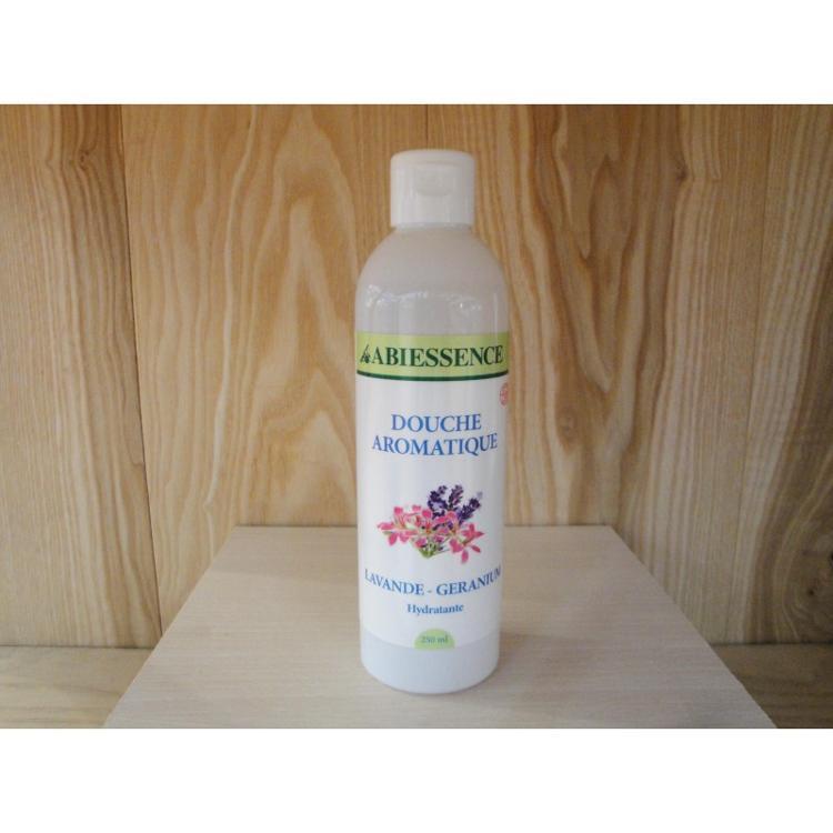 Bain douche - Aromatique Lavance Géranium - bio - 250ml