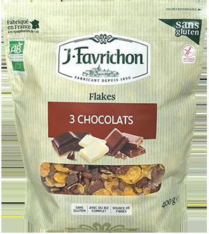 FLAKES 3 CHOCOLATS