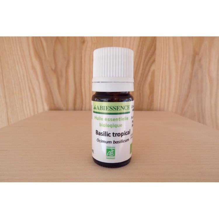Huille essentielle - Basilic Tropical - bio - 5ml