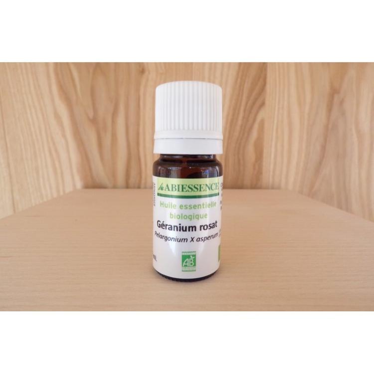 Huille essentielle - Géranium Rosat - bio - 5ml