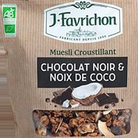 MUESLI CHOCOLAT & NOIX DE COCO