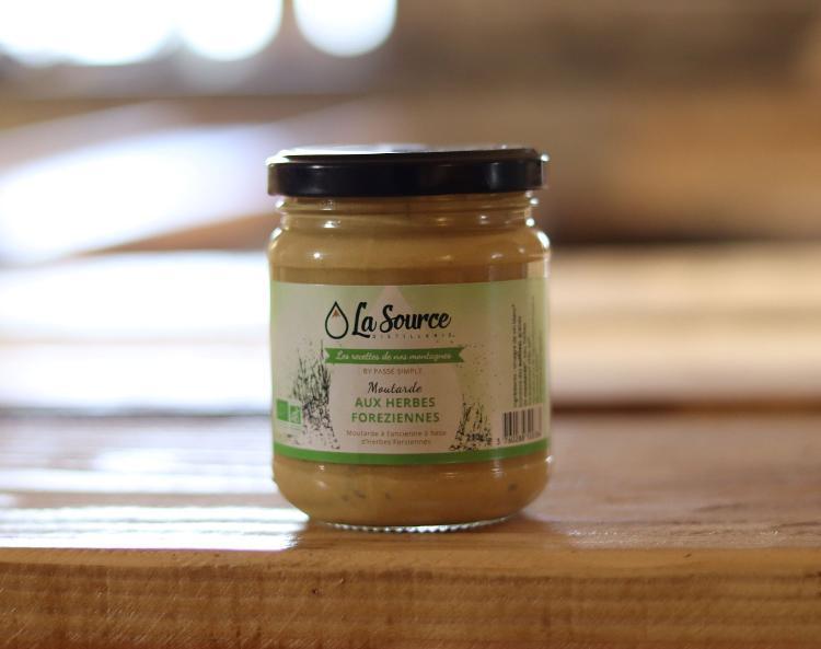 Moutarde aux herbes Forézienne - 210gr