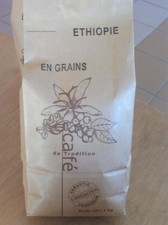 Café en grains ETHIOPIE 1kg