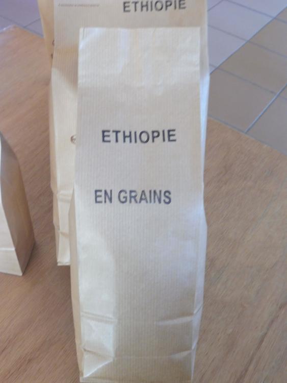 Café en grains ETHIOPIE 500g