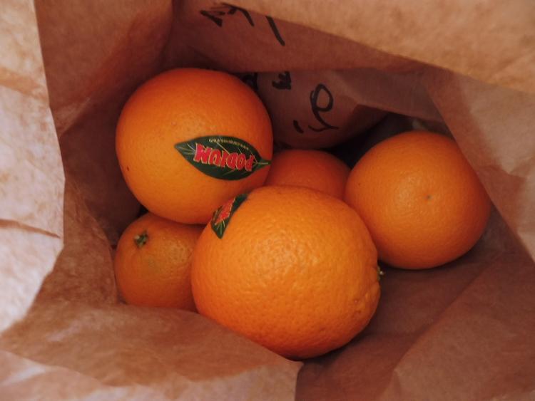 Orange à jus de Francoise