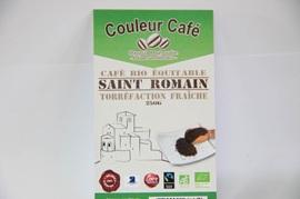 Dosettes souple café artisanal bio - St Romain - 36 dosettes