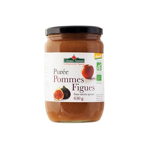 Purée Pomme Figue sans sucre ajouté 630 g