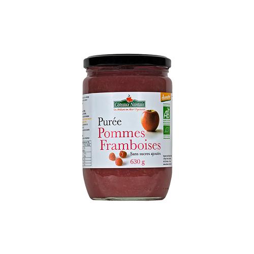 Purée Pomme Framboise 630 g